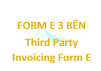 FORM R - Third party invoice